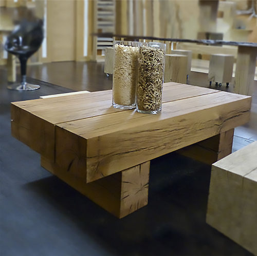 Garcia varona shop for Construir mesa de madera rustica